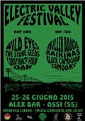 Locandina Electric Valley Festival 2015 (foto: Electric Valley Records)