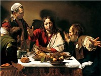 La cena di Emmaus (foto: Wikipedia commons)